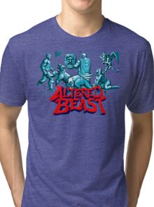 ALTERED BEAST - SEGA ARCADE Tri-blend T-Shirt