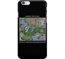 gta san andreas map iPhone Case/Skin