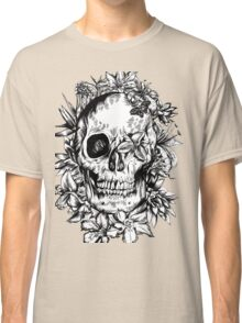 floral skull 1 Classic T-Shirt