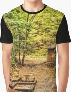 The Glade - painted Graphic T-Shirt