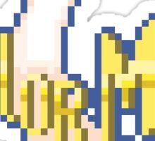 Sailor Moon Pixel Logo Sticker