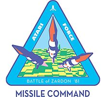 MISSILE COMMAND - ATARI COLD WAR Photographic Print