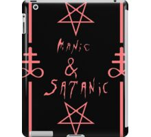 Manic & Satanic (Red) iPad Case/Skin