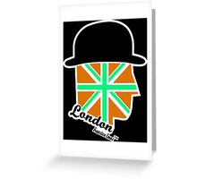 London Gentleman by Francisco Evans ™ Greeting Card