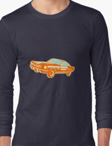 Ford Mustang, vintage car Long Sleeve T-Shirt