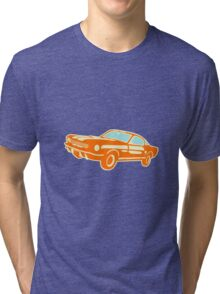 Ford Mustang, vintage car Tri-blend T-Shirt