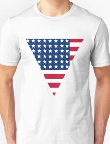 American Flag ( Triangle ) Unisex T-Shirt