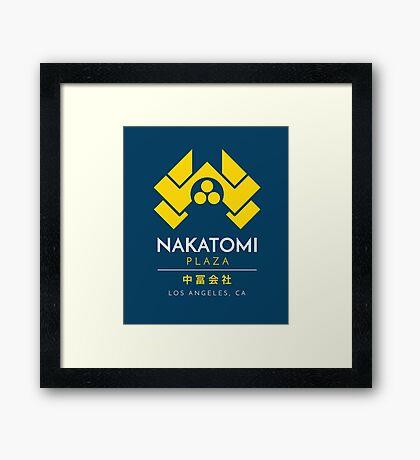 Nakatomi Plaza T-Shirt Framed Print