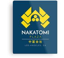 Nakatomi Plaza T-Shirt Metal Print