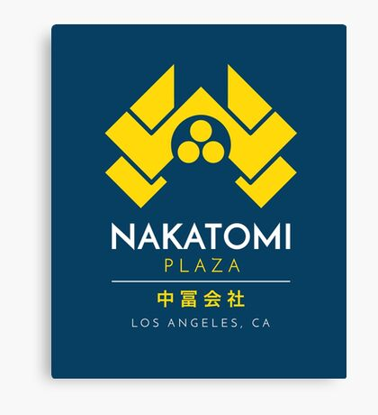 Nakatomi Plaza T-Shirt Canvas Print