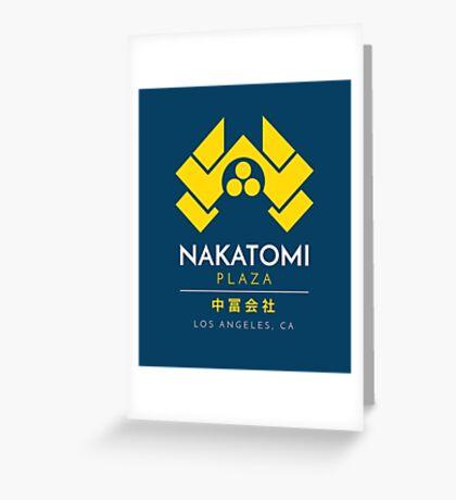 Nakatomi Plaza T-Shirt Greeting Card