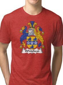 Whitehead Coat of Arms / Whitehead Family Crest Tri-blend T-Shirt
