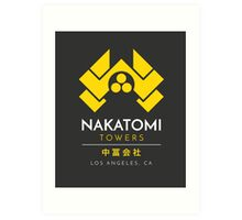 Nakatomi Towers T-Shirt Art Print