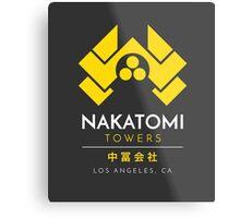 Nakatomi Towers T-Shirt Metal Print