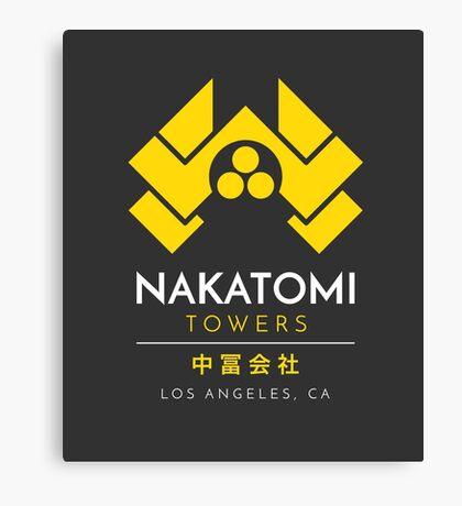 Nakatomi Towers T-Shirt Canvas Print