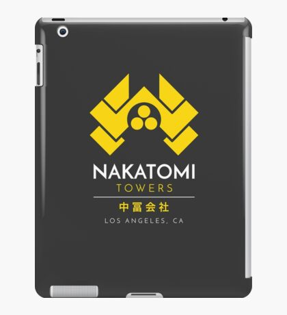Nakatomi Towers T-Shirt iPad Case/Skin