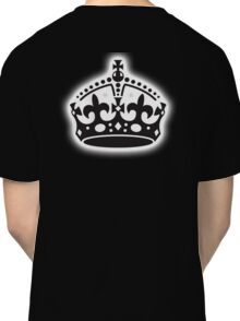 British Crown, GB, UK, Her Majesty the Queen; black Classic T-Shirt
