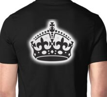 British Crown, GB, UK, Her Majesty the Queen; black Unisex T-Shirt