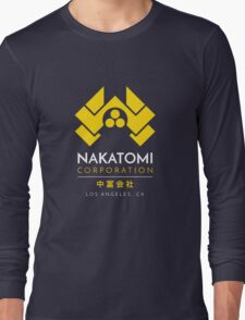 Nakatomi Corporation T-Shirt Long Sleeve T-Shirt