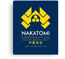 Nakatomi Corporation T-Shirt Canvas Print