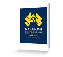 Nakatomi Corporation T-Shirt Greeting Card