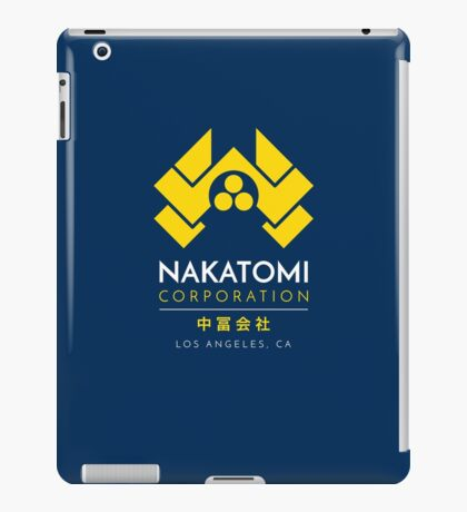 Nakatomi Corporation T-Shirt iPad Case/Skin
