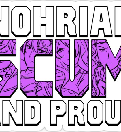 Nohrian Scum Ver. 5 Sticker
