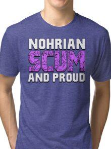 Nohrian Scum Ver. 5 Tri-blend T-Shirt