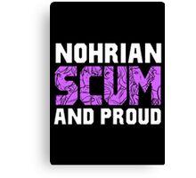 Nohrian Scum Ver. 5 Canvas Print