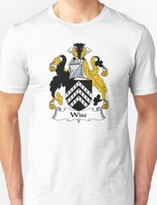 Wise Coat of Arms / Wise Family Crest Unisex T-Shirt