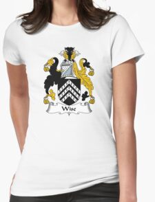 Wise Coat of Arms / Wise Family Crest Womens Fitted T-Shirt