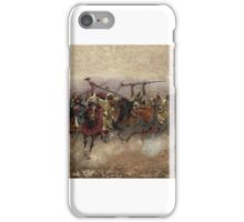 Henry Enrico Coleman  ARAB HORSEMEN IN GALLOP,  iPhone Case/Skin
