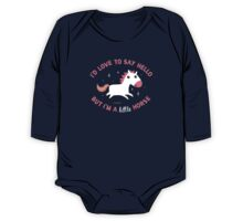 I'm A Little Horse One Piece - Long Sleeve