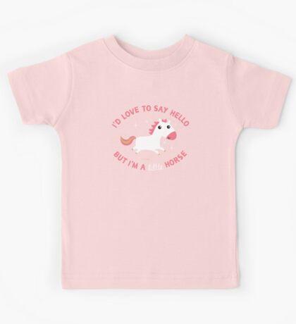 I'm A Little Horse Kids Tee