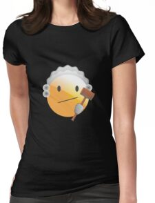 emotion judge Womens Fitted T-Shirt