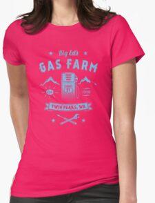 Big Ed's Gas Farm Womens Fitted T-Shirt