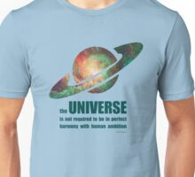 Carl Sagan - the Universe Unisex T-Shirt