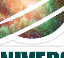 Carl Sagan - the Universe Sticker