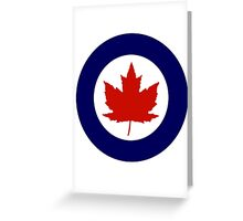Royal Canadian Air Force Greeting Card