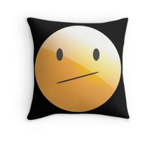 emotion boring Throw Pillow