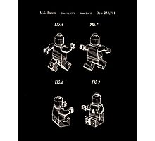 Lego Man Patent 1979 Page 2 Photographic Print