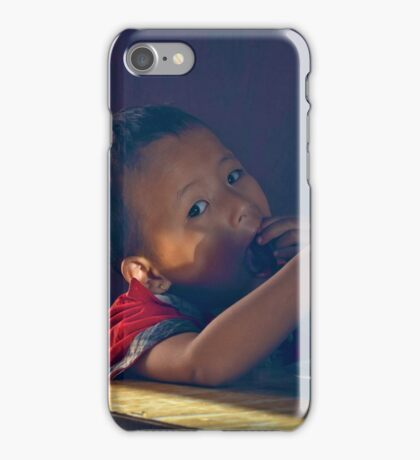 Hungry Boy II iPhone Case/Skin