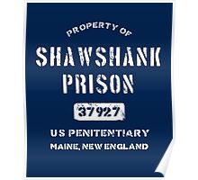 Property of Shawshank Prison T-Shirt Poster