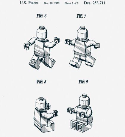 Lego Man Patent 1979 Page 2 Sticker