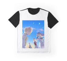 Bravely Default Crystal Crew Graphic T-Shirt