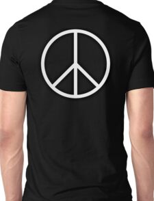 Ban the Bomb, Peace, Old School, Symbol, CND, Trident, Campaign for Nuclear Disarmament, White Unisex T-Shirt