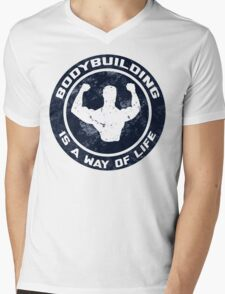 Bodybuilding Is A Way Of Life Mens V-Neck T-Shirt