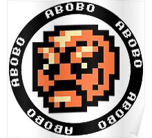 ABOBO - DOUBLE DRAGON TAITO Poster