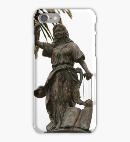 Statue in San Francisco Park iPhone Case/Skin