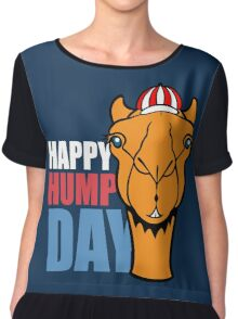 Hump Day - Wednesday Chiffon Top